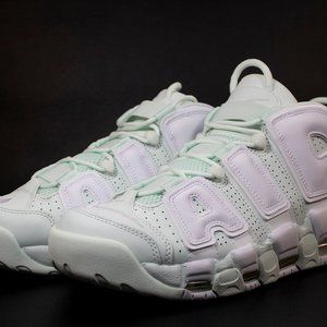 Nike Women's Size 8.5 Barely Green Air Uptempo